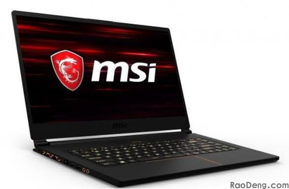MSI GS65 Game notebook compute