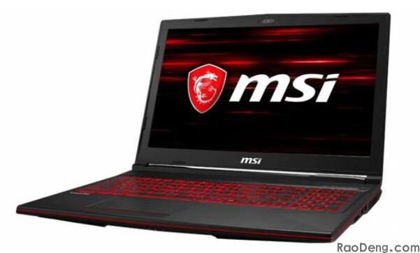 MSI GL63 Game notebook compute